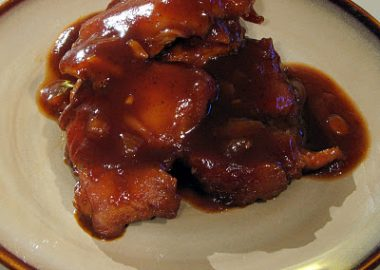 Baked Barbecue Chicken Thighs