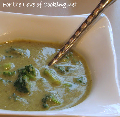 Cream of Broccoli and Parmesan Soup