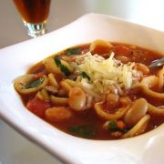 Minestrone with Turkey Italian Sausage