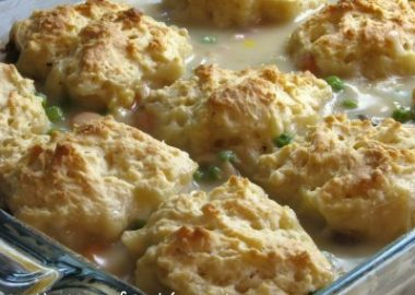 Chicken with Biscuits