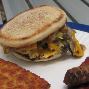 Camping Cuisine – Breakfast Sandwiches
