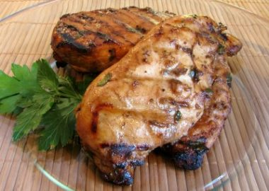 Balsamic, Dijon and Garlic Grilled Chicken Breasts