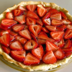 Meg's Strawberry Lemon Jello Pie