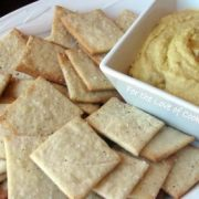 Daring Baker's September Challenge - Lavish Crackers and a Vegan Dip