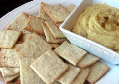 Daring Baker's September Challenge – Lavish Crackers and a Vegan Dip
