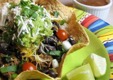 Shredded Beef Taco Salad