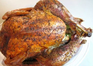 Roasted Turkey with Thyme and Sage