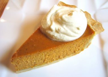 Pumpkin Pie with Homemade Crust