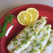 Tilapia with Lemon and Dill