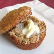 Banana, Coconut and Walnut Muffins
