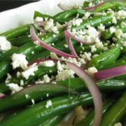Green Beans with Feta and Dill