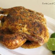 Southwestern Roasted Chicken