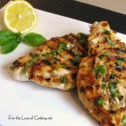 Lemon and Basil Chicken Breasts
