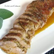 Pork Tenderloin with Maple Glaze
