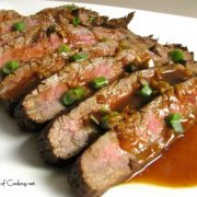 Orange Thai Flank Steak