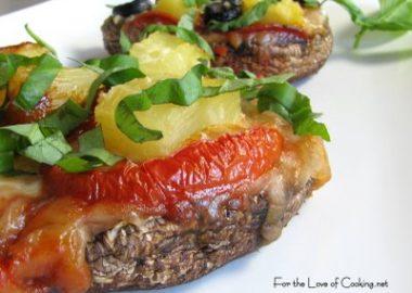 Portobello Mushroom Pizzettas