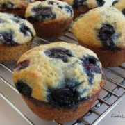 Blueberry - Yogurt Muffins