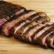 Sweet and Spicy Flank Steak