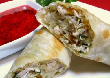 Chicken Flautas with Jalapeno Jelly
