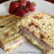Turkey, Brie and Cranberry Chutney Panini