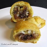 Chocolate, Coconut and Pecan Crescent Rolls