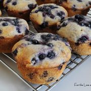 Blueberry Lemon Surprise Muffins