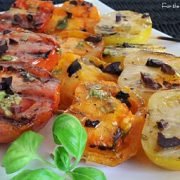 Grilled Tomatoes Tapenade