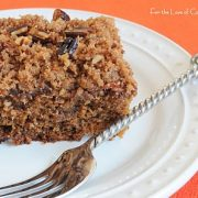 Banana Cake with Streusel Topping