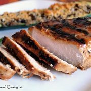 Honey Mustard Thick Cut Pork Chops