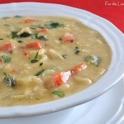 Southwestern Cream of Chicken Soup