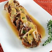 Spiced Pork Tenderloin with Sautéed Apples