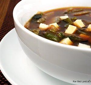 ... Soup with Poblanos, Oregano, and Cotija Cheese aka Sopa de Jitomate y