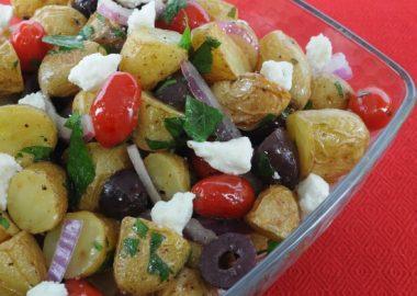 Mediterranean Roasted Potato Salad