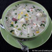Potato Crab Chowder