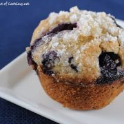 Banana, Blueberry, and Lemon Muffins