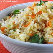 Carrot-Ginger Rice