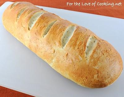 Roasted Garlic French Bread