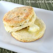 Flaky Buttermilk and Chive Biscuits