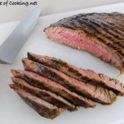 Soy Garlic Flank Steak