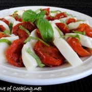 Roasted Tomato Caprese Salad