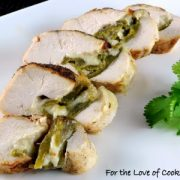 Green Chile and Pepper Jack Cheese Stuffed Chicken Breast