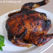 Roasted Chicken with Orange, Honey, and Cumin