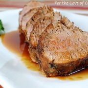 Pan Grilled Ginger-Honey Pork Tenderloin