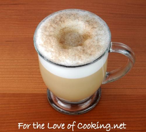Vanilla Latte with Cinnamon and Sugar Crust
