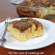 Cinnamon Baked French Toast