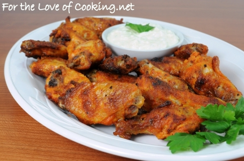 Baked Spicy Chicken Wings | For the Love of Cooking
