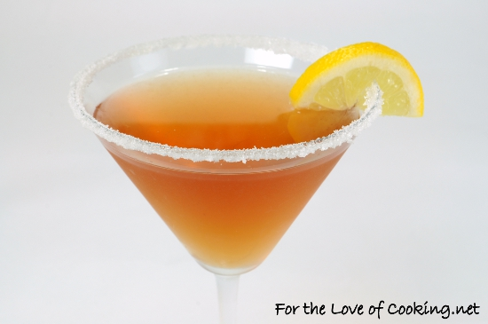 Pom-Lemon Martini