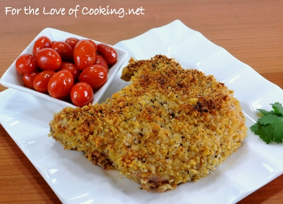 Italian Panko and Parmesan Crusted Pork Chops | For the ...