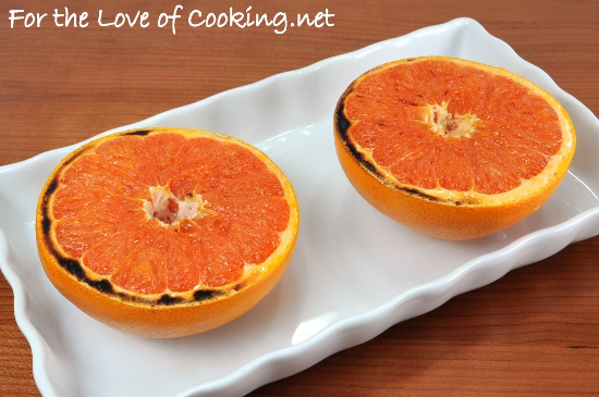 Broiled Grapefruit with Caramelized Sugar
