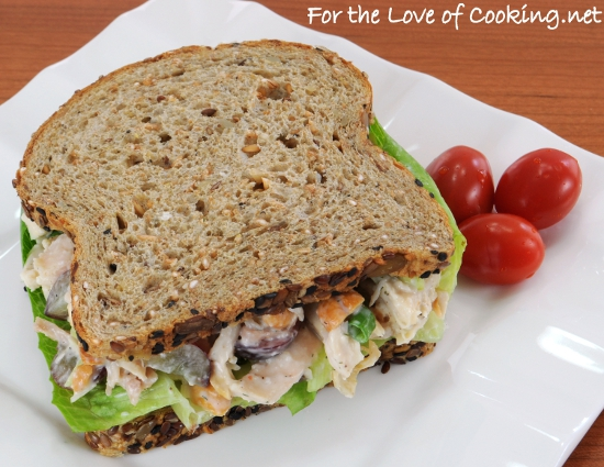 Dill Chicken Salad Sandwiches | For the Love of Cooking